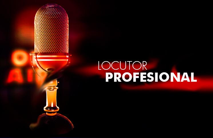 Locutor profesional