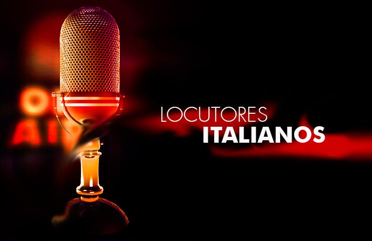 Locutores Italianos